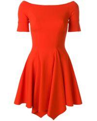 Plein Sud Jeanius - Fitted Scoop Neck Dress - Lyst