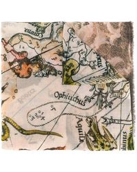 Faliero Sarti - Greek Gods Print Scarf - Lyst