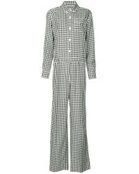 Sonia Rykiel - Checked Jumpsuit - Lyst