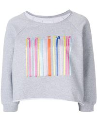 Gaëlle Bonheur - Three-quarter Sleeve Logo Sweatshirt - Lyst