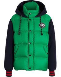 Burberry - Neoprene Down-filled Hooded Jacket - Lyst