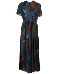 Vionnet - Printed Midi Dress - Lyst