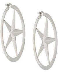 Alexander Wang - Star Hoop Earrings - Lyst