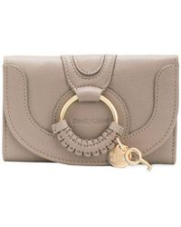 See By Chloé - Hana Compact Wallet - Lyst