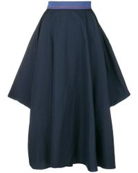 ROKSANDA - Flared Asymmetric Skirt - Lyst