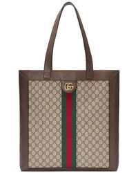 Gucci - Ophidia Soft GG Supreme Large Tote - Lyst