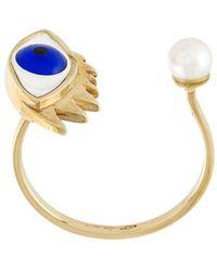 Delfina Delettrez | Eye Piercing Ring | Lyst