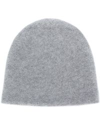 N.Peal Cashmere - Knitted Beanie Hat - Lyst