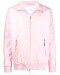 Soulland Zipped Bomber Jacket - Pink