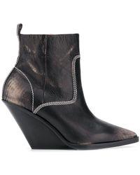 DIESEL - D-west Ab Boots - Lyst