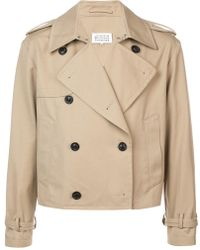 Double Breasted Jacket Lyst Cropped Maison Margiela FTw5aqE7x