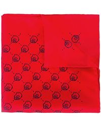 Gucci - 'ghost' Pocket Square - Lyst