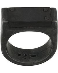 Parts Of 4 - Plate Ring Single - Lyst