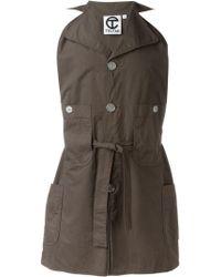 Telfar - Sleeveless Belted Jacket - Lyst