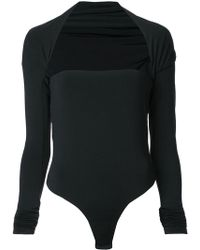 Alexander Wang - Bolero Bodysuit - Lyst