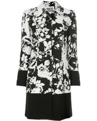 Fausto Puglisi - Floral Patterned Coat - Lyst