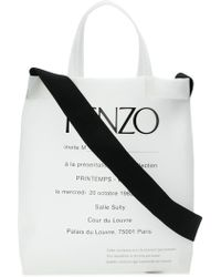 KENZO - Invitation Tote - Lyst