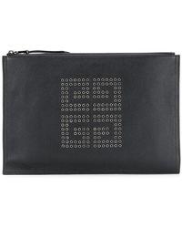 Givenchy - Embellished Logo Clutch Bag - Lyst