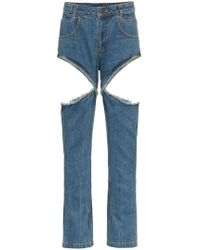 Telfar - Jeans con cut-out - Lyst