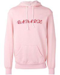 Rodarte - Embroidered Oversized Hoodie - Lyst