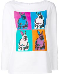 PS by Paul Smith - Rabbit Print T-shirt - Lyst