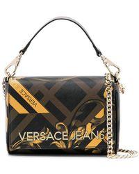 Versace Jeans - Baroque Print Shoulder Bag - Lyst