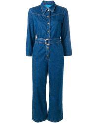 M.i.h Jeans - 'Harper' Jumpsuit aus Denim - Lyst