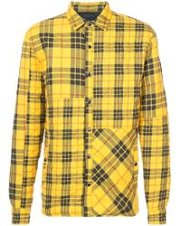 Mostly Heard Rarely Seen - Quilted Plaid Shirt Jacket - Lyst