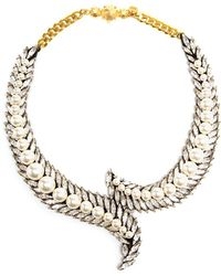 Shourouk | 'piuma' Necklace | Lyst