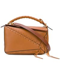 Loewe | Puzzle Laced Bag | Lyst