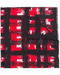 Alexander McQueen - Pañuelo con estampado gráfico - Lyst