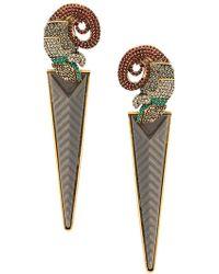 Camila Klein - Grande Camaleão Earrings - Lyst