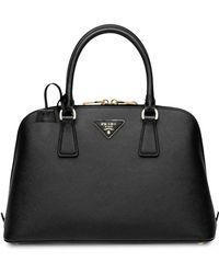 14e87e17247f Prada - Promenade Saffiano Leather Bag - Lyst