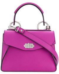 df4dc2bda13 J.W. Anderson Twist Leather Shoulder Bag in Red - Lyst