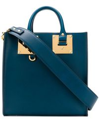Sophie Hulme - Boxy Shoulder Bag - Lyst