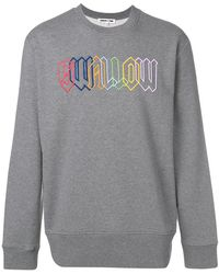McQ - Swallow Embroidered Sweatshirt - Lyst