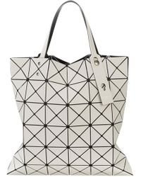 Issey Miyake - Adjustable Strap Triangle Pvc Bag - Lyst