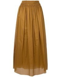 Mauro Grifoni - Pleated Skirt - Lyst
