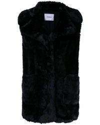 Dondup - Fur Vest - Lyst