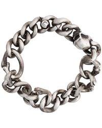Werkstatt:münchen - Bone Chain Bracelet - Lyst