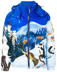 Moncler | Giubbotto Arcy Graphic Padded Jacket | Lyst