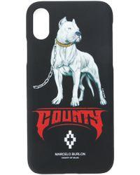 Marcelo Burlon - Dogo Iphone X Case - Lyst
