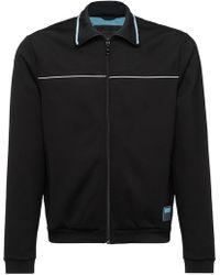 Prada - Technical Fleece Jacket - Lyst