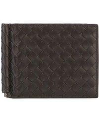 Bottega Veneta - 'intrecciato' Leather Wallet - Lyst