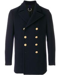 Department 5 - Double-breasted Peacoat - Lyst