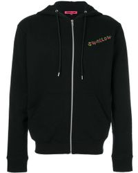McQ - Swallow Embroidered Hoodie - Lyst