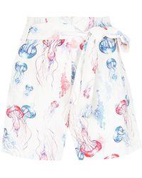 Olympiah - Printed Shorts - Lyst