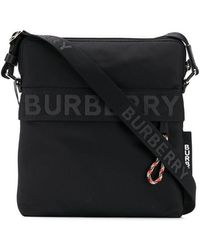 Burberry - Sac à bandoulière à logo - Lyst