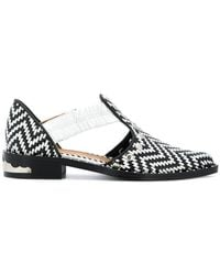 Toga Pulla - Woven Cut Out Oxfords - Lyst