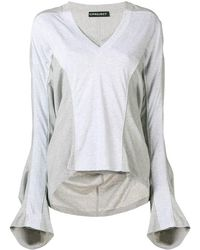 Y. Project - Oversized Flared-sleeve T-shirt - Lyst